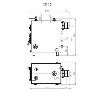 Котёл Траян серии ТР-12-1КТ