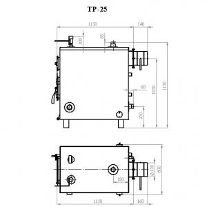 Котёл Траян серии ТР-25