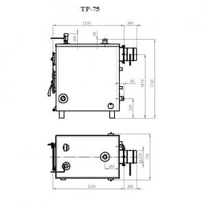 Котёл Траян серии ТР-75