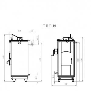 Котёл Траян серии ТПГ-10