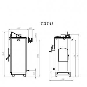 Котёл Траян серии ТПГ-15